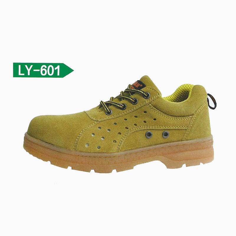 迈腾 鹿原LY-601 冷粘上线优质牛筋底劳保鞋 35-47码