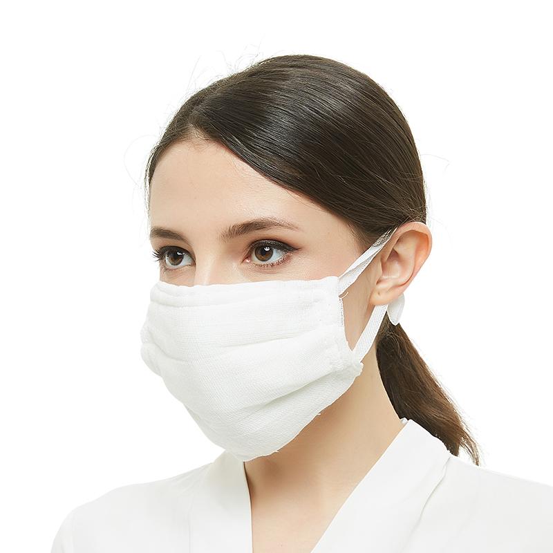 迈腾 育红20层加厚棉纱布口罩 可水洗劳保口罩 加厚透气防尘口罩防工业粉尘口罩