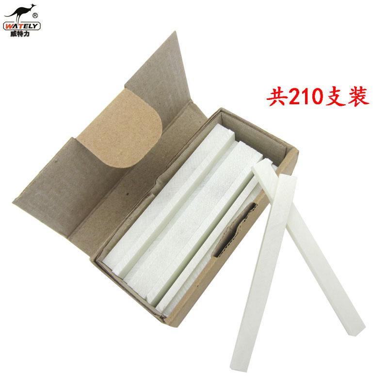 迈腾慧采 石头笔 石笔 滑石笔 钢铁划线笔 石条笔 粉石笔 粉笔 划笔 大号石笔 标准款10盒(210支)长67mm