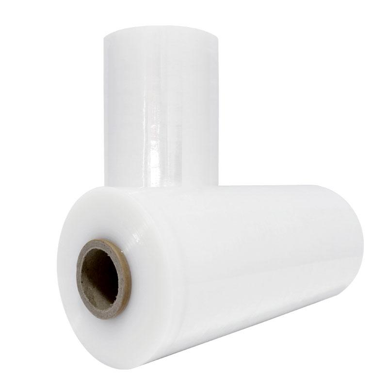 迈腾慧采 PE缠绕膜 大卷拉伸膜 工业托盘打包膜  快递打包膜 5公斤/卷(手用)