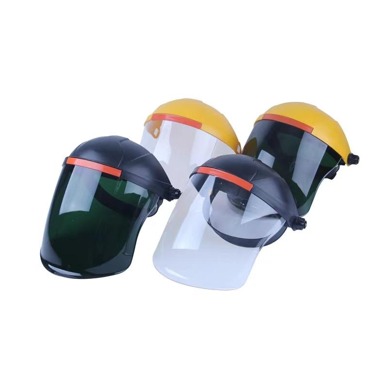 迈腾 透明防护面屏 隔离面罩 厨房炒菜防油溅防油烟面具防飞沫面罩 成人款1只装