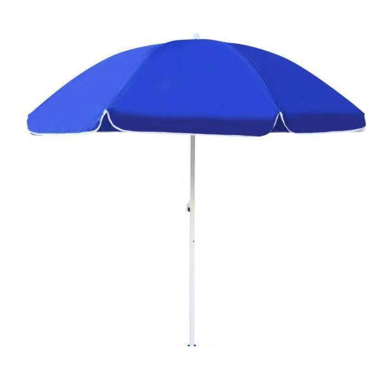 迈腾慧采 凯元圆顶蓝色加厚遮阳伞  直径2.4米